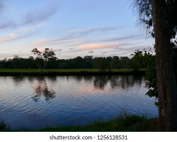 Twilight Dawson River Campground Taree Australia