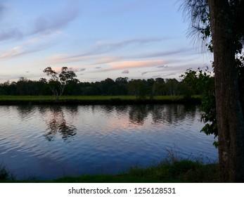 Twilight Dawson River Campground Taree Australia