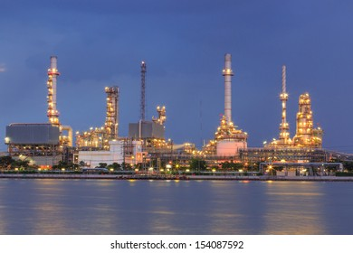 twilight oil and refinery industry