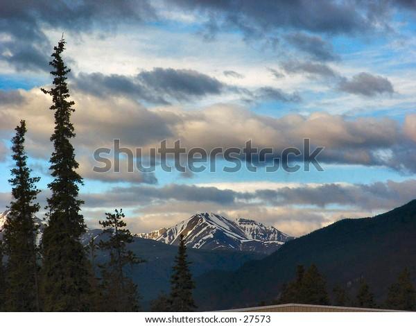 Twilight in the Rockies
