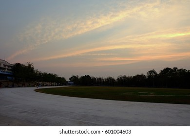 Twilight  sky.