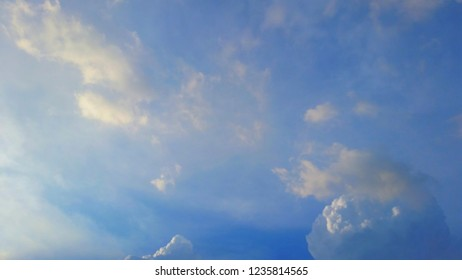 Twilight sky with cloud as background.