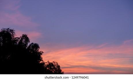 twilight tine sky background