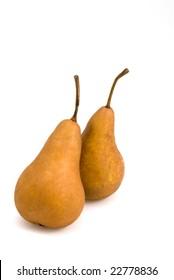 Twin Bosc Pears