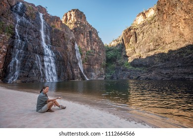 Twin falls gorge, Kakadu National Park,Northern territory, Australia