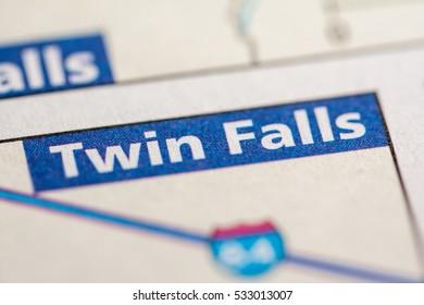 Twin Falls. Idaho. USA