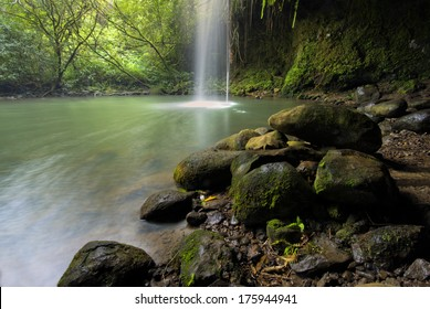 Twin Falls, a short walk off the road to Hana, Maui, Hawaii
