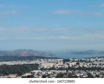 Twin Peak is one of landmark in Sanfransico, USA