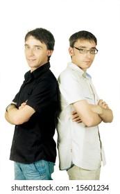 twins (close-up)