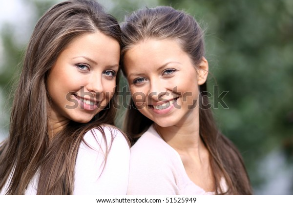 Twins of sister