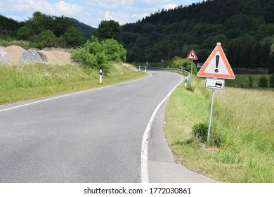 twisted road in the Eifel