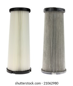 Two air filters.
