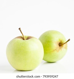 Two apples isolated