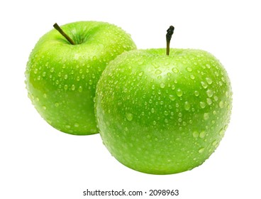 Two Apples w/ Path