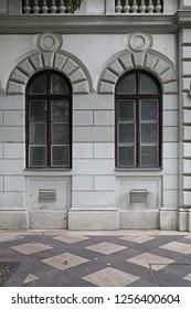 Two Arch Windows in Budapest Hungary