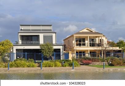 Two Australian family houses
