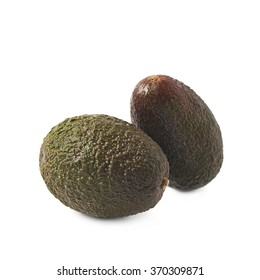 Two avocados composition isolated