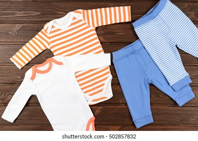 ee240fbffecc Striped Panties Children Clothes Children Soft Stock Photo (Edit Now ...