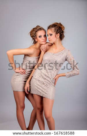 Are free lesbian twin sisters