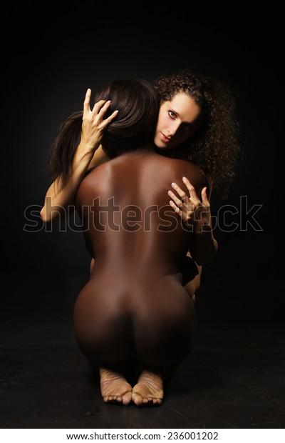 Beautiful naked brown women