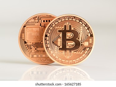 two bitcoins - bit coin BTC the new virtual money