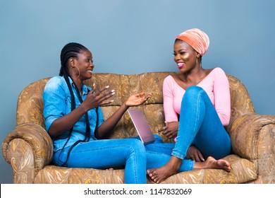 Two Black Girl
