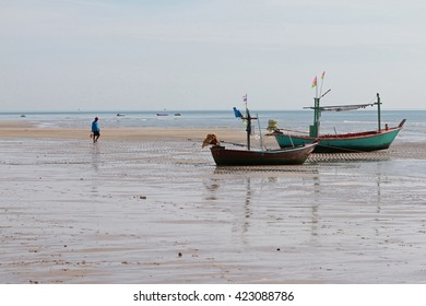 two boat on the beach