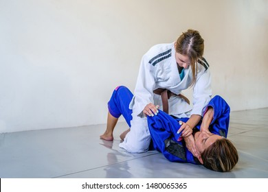Jiu Jitsu Female Images, Stock Photos & Vectors | Shutterstock