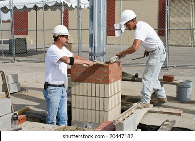 Two Bricklayers