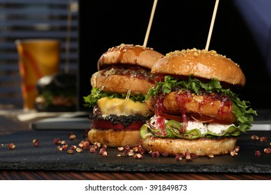 Two burger
