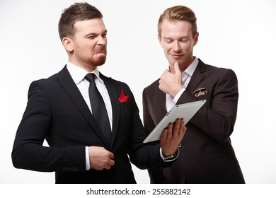 two businessman in negotiations
