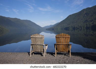 Two Chairs at the Lake