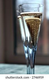 Two champange glass.