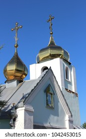 Two church domes