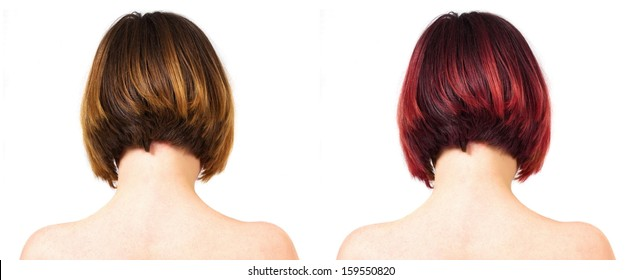 two color female haircuts