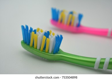 Two Colored Toothbrush