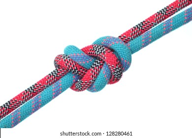 two colors rope