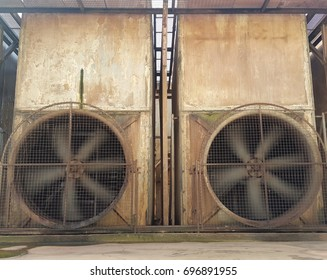 Two Cooling tower for effluent treatment