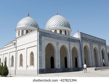 Two Cupolas of Juma Mosque in Tashkent, Uzbekistan