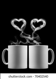 Two cups of tea with love