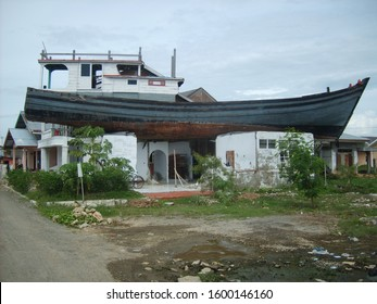 Two days after the 2004 Indian Ocean Tsunami