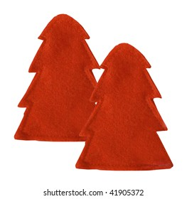 two decoration red spruce