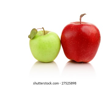 Two different apples