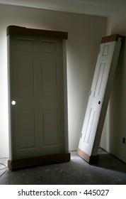 Two Doors- Backlit