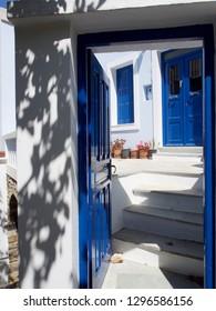 Two Doors in the Greek Islands