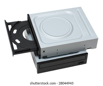 Two dvd drives