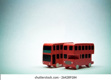 Two English buses