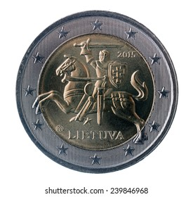 Two euro coin, Lithuania