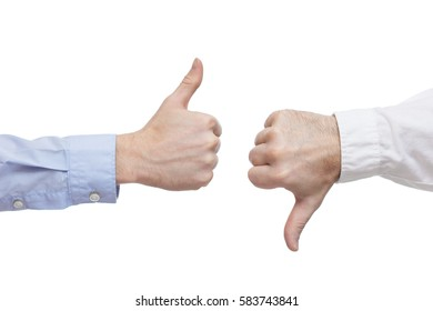 Two executives or businessmen disagreeing over a deal or contract