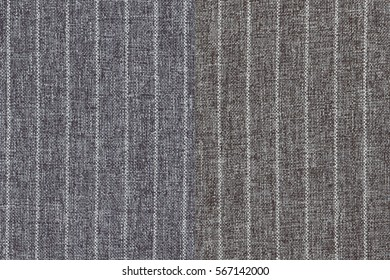 two fabric color(brown, ivory) pattern, textures for background(woven, cotton, stripe)